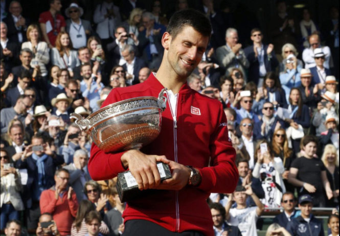 Champion Novak Djokovic