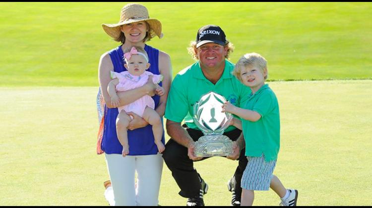 William McGirt and family celebrate 2016 Memorial win