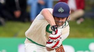 Ireland cricketer EdJoyce