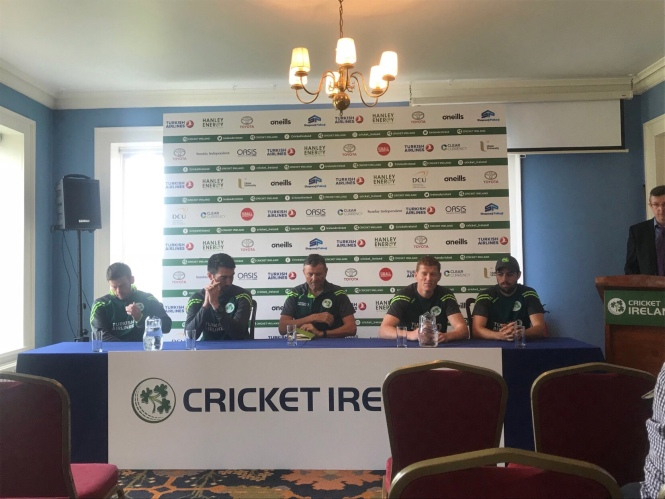 Cricket Ireland Test Squad Announcement